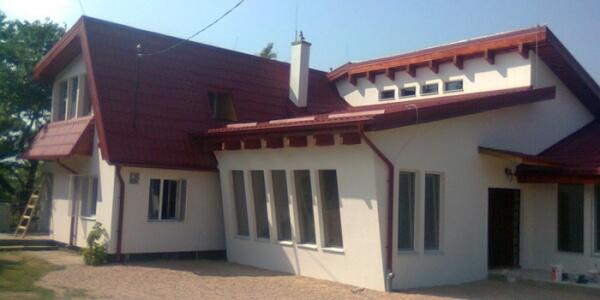 Constructii case de vacanta in Dangau