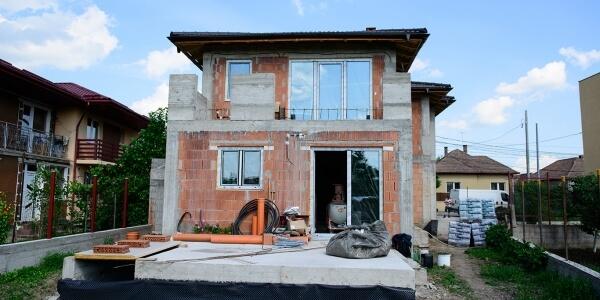 Casa construita in Someseni