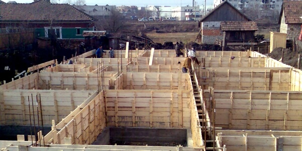 fundatii de beton
